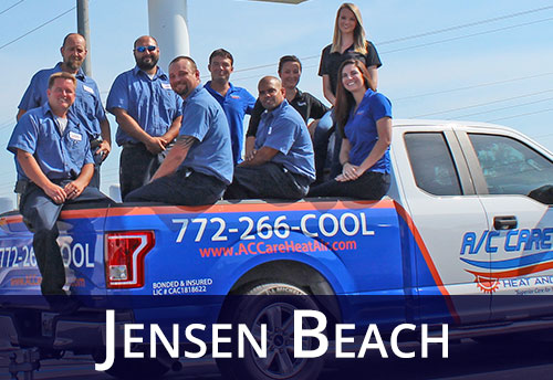 AC Repair Jensen Beach Service Team In Truck